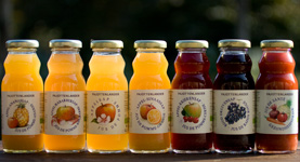 little juice, apple, cherry, orange, grape, health juice, apple-pineapple, apple-rhubarbe